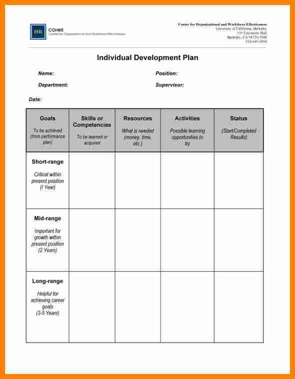 10+ development plan examples for employees | job resumed