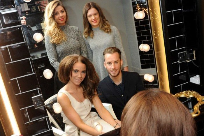 Couple hope their split salon will take top spot in The News Hair ...