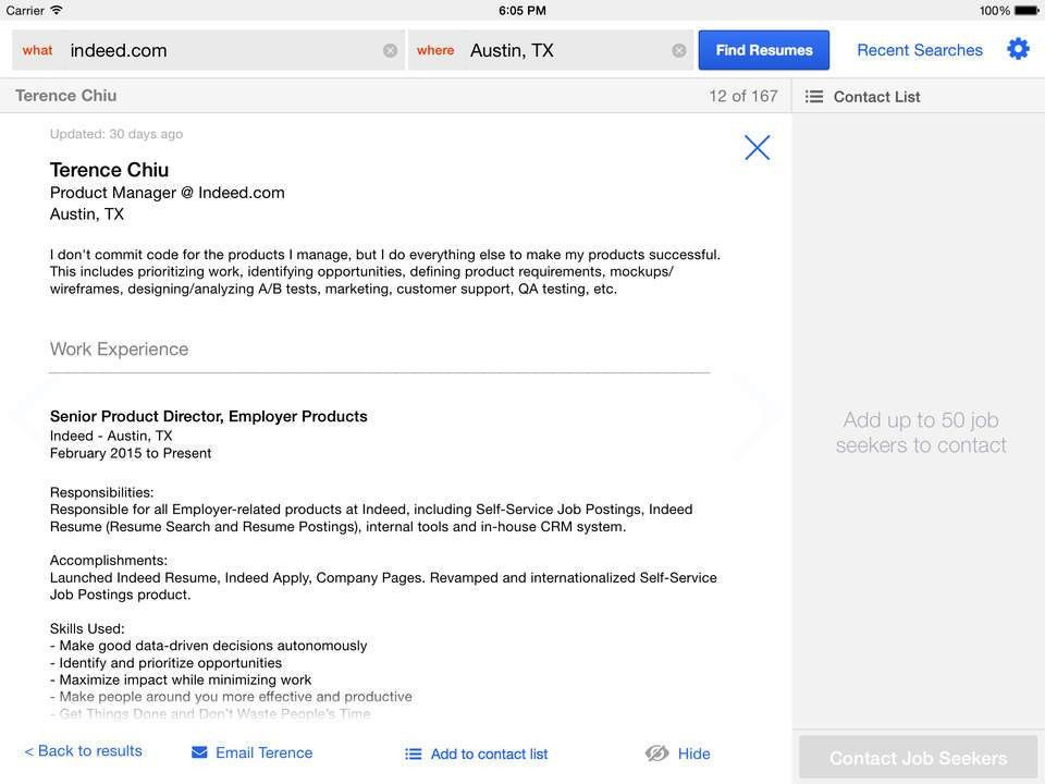 resume indeed download indeed resume search resumes on indeed