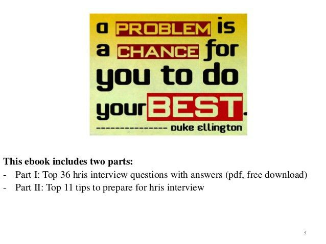 Top 36 hris interview questions with answers pdf