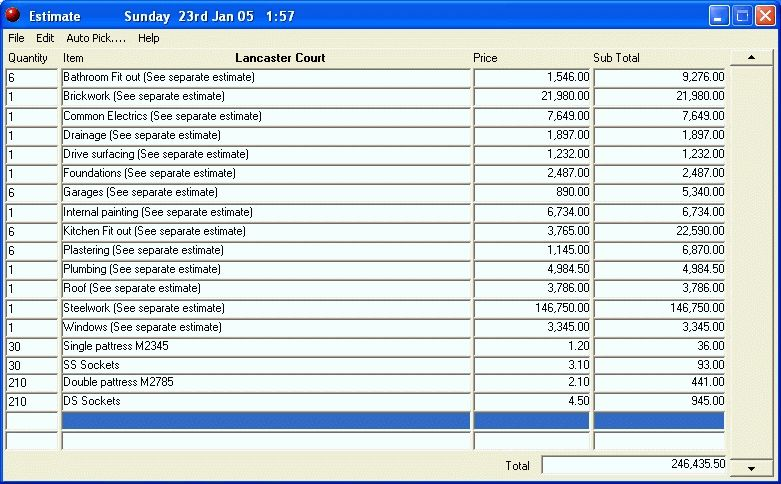 Download Cleaning Estimate Software: Bid-n-Invoice Office Cleaning ...