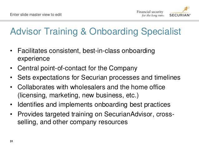 Advisor Onboarding