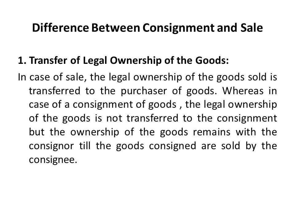 Consignment Legal Definition [Template.billybullock.us ]