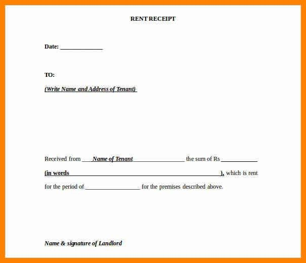 8+ rental receipt template uk | forklift resume