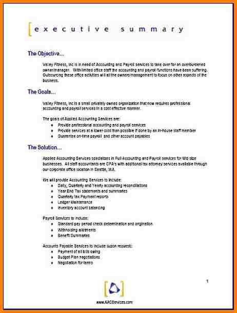 business proposal sample doc