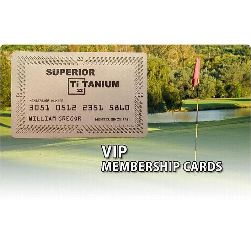 Titanium Business Cards by Superior Titanium Products, Inc.