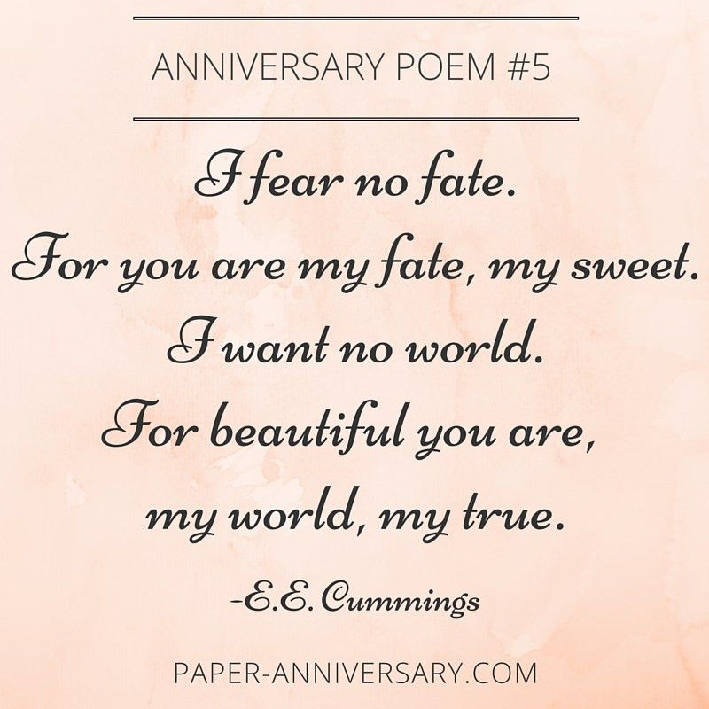 13 Beautiful Anniversary Poems to Inspire | Anniversary poems ...