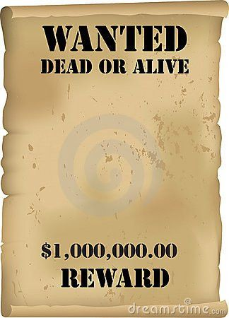 8 Best Images of Old West Wanted Poster Template - Wild West ...