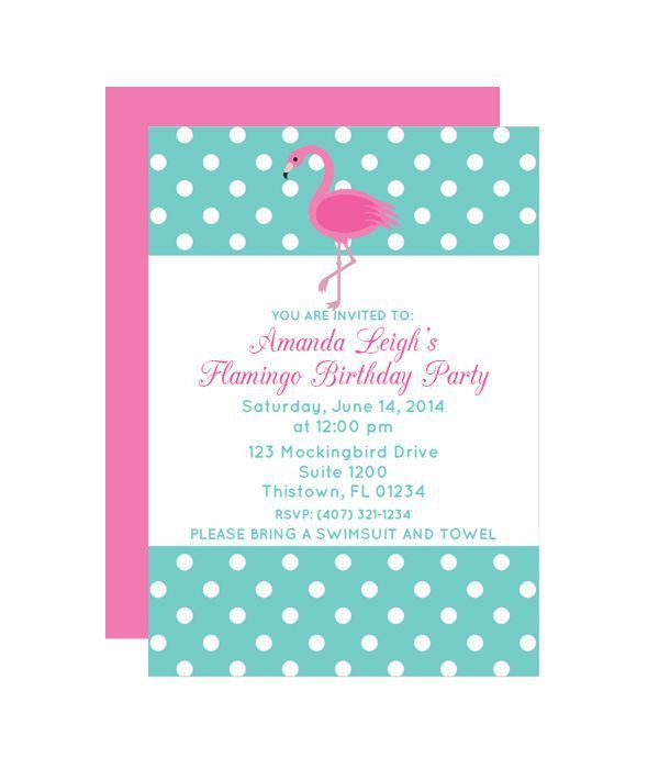 16 best Free Printable Party Invitations images on Pinterest ...