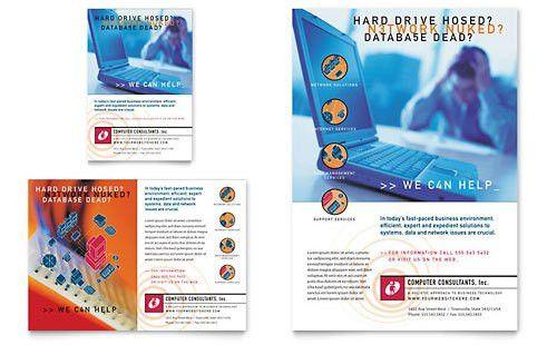 computer repair flyer template word computer repair flyer template ...