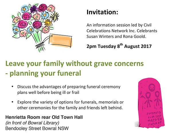 Leave your family without grave concerns - planning your funeral ...