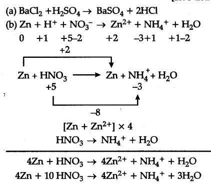 Give one example of a chemical reaction which is not a redox ...