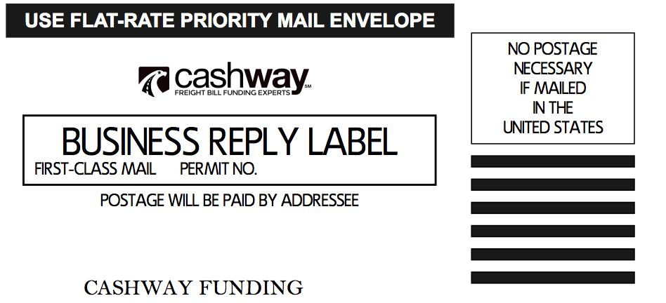 Free USPS Priority Mail Labels | Cashway Funding