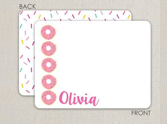 12+ Thank You Note Templates – Free Sample, Example Format ...