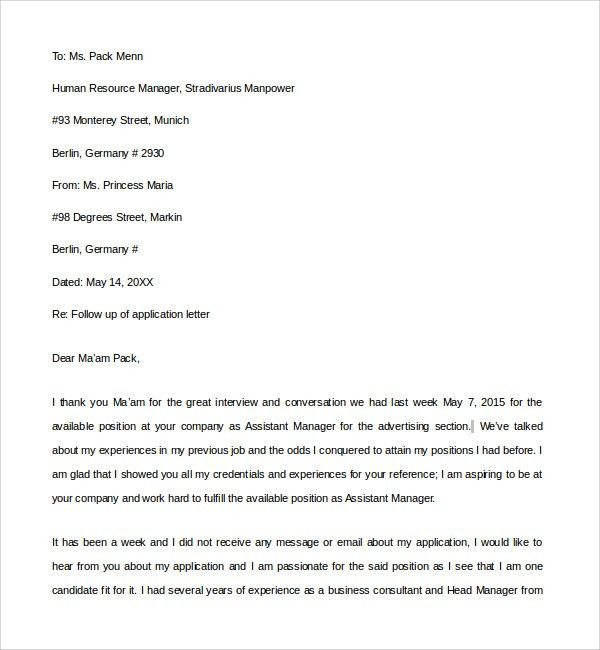 Sample Email Reference Letter Template - 6+ Free Documents in PDF ...