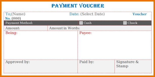 Microsoft Office Word Templates.paymabt Voucher Template In MS ...