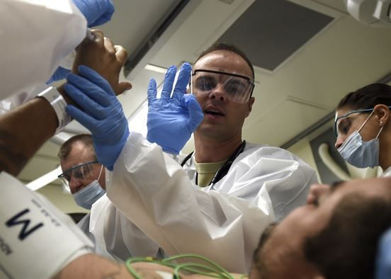 Joint emergency department sets the tone > U.S. Air Force ...