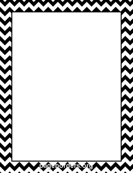 Free Chevron Borders: Clip Art, Page Borders, and Vector Graphics