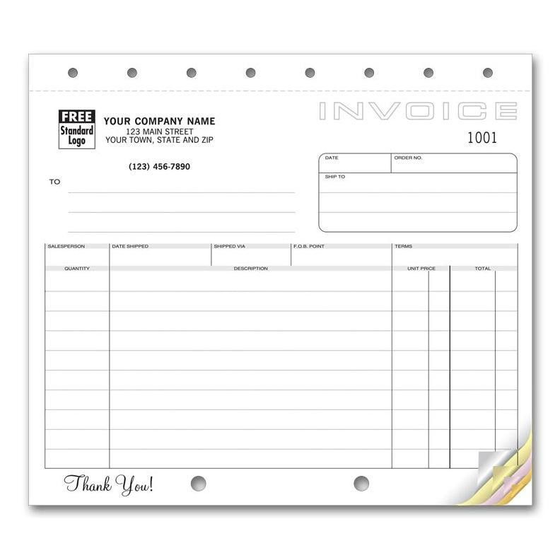 Carbonless Invoice Forms | DesignsnPrint