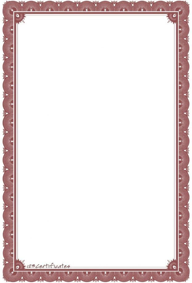 free certificate border artwork certificate background templates ...
