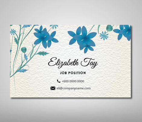 Name Card Design Template - Business Card Design, Name Card Design ...