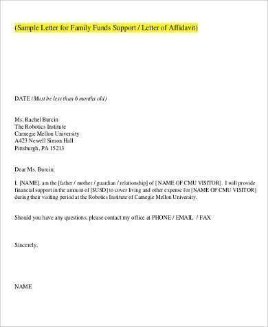 sworn affidavit form uscis 3 ways to write an affidavit letter for ...