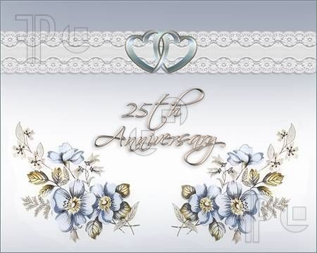 25th wedding anniversary cards free download - Google Search ...