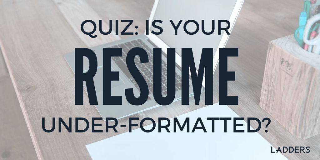 Manipulating a Sales Resume | Ladders