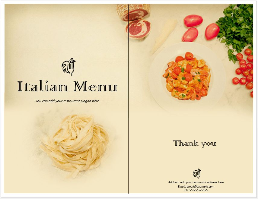 20+ [ Pizza Menu Template Word ] | Sample Bakery Menu Template 15 ...