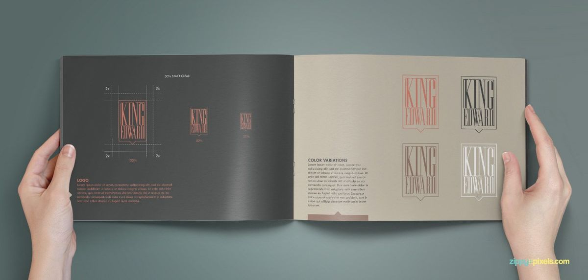 Logo Variations - Brand Identity Guidelines - Royal BrandBook ...