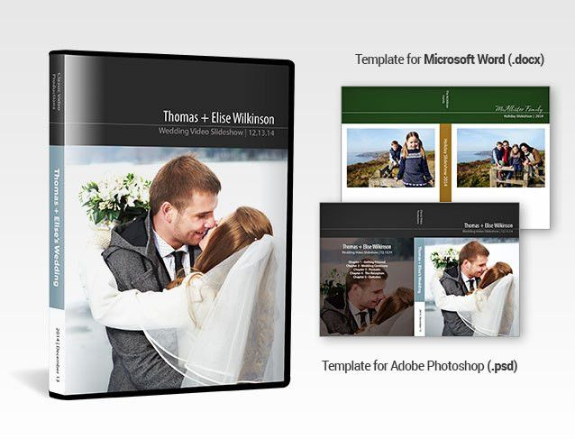Free Printable DVD Cover Template for Your Video Slideshows |