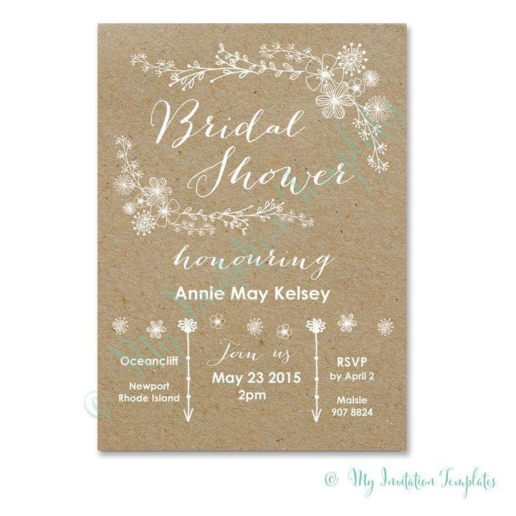 Sample Bridal Shower Invitations - marialonghi.Com