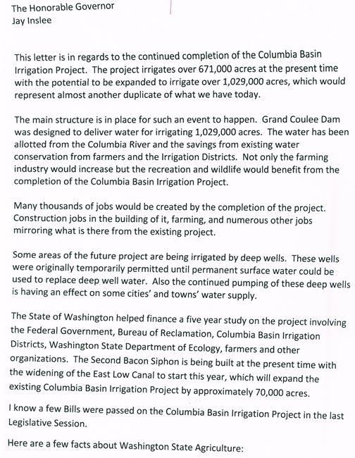 Fast Track Completion of the Columbia Basin Project by 2022 - 2014 ...
