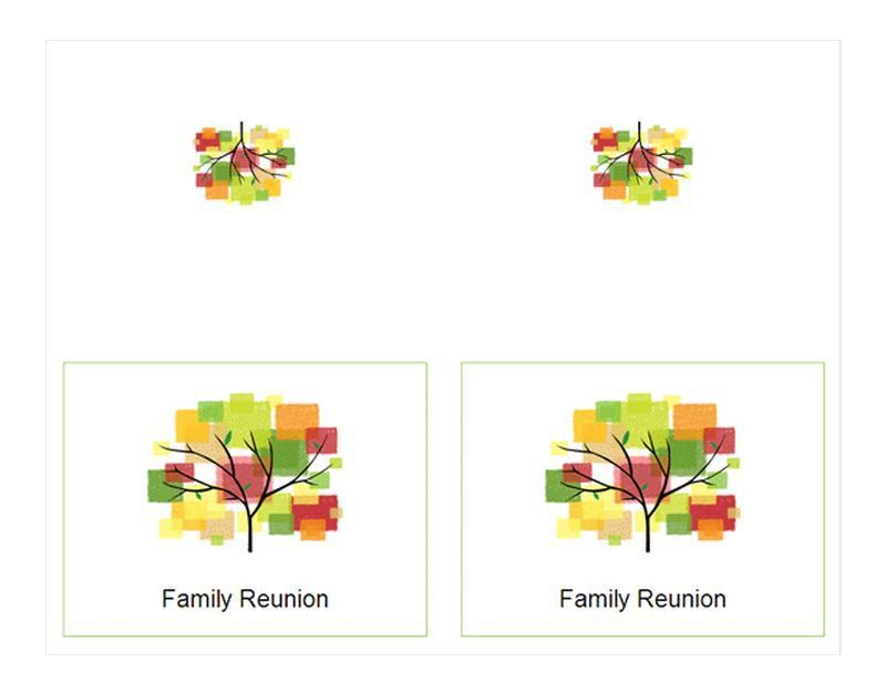 Family Reunion Invitations | Family Reunion Invitations Template