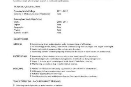 100+ [ Health Care Assistant Resume ] | Curriculum Vitae Sample ...