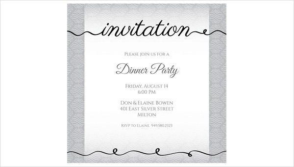 44+ Dinner Invitation Designs | Free & Premium Templates