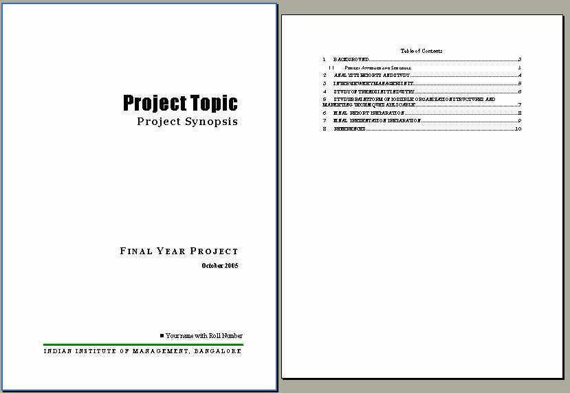 Sample Project Report. Project Status Report Template Free Sample ...