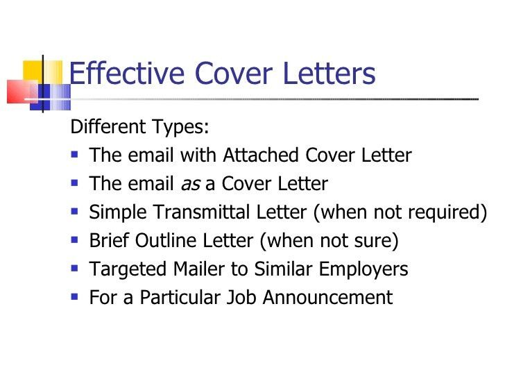 100+ Writing Effective Cover Letters | Effective Cover Letter ...