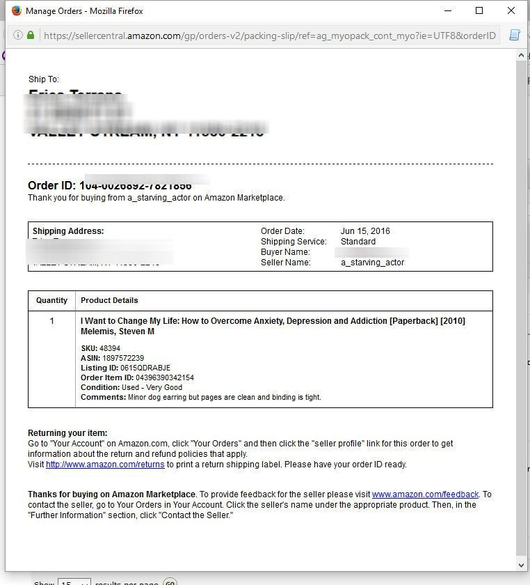 How do I print a receipt without prices (gift receipt) - Amazon ...