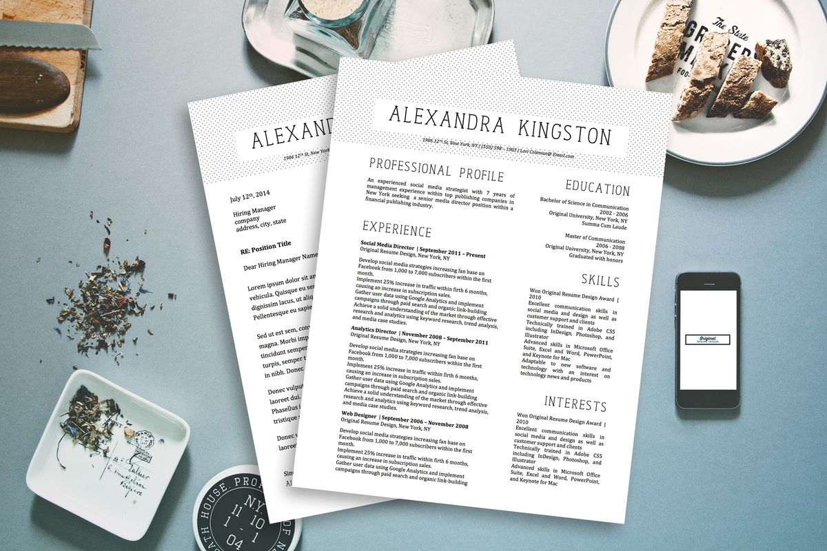 Featured Resume Templates