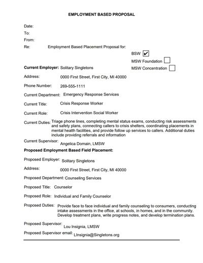 Job Proposal Template: Free Download, Edit, Fill, Create and Print