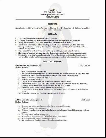 samples of cover letters for medical assistant