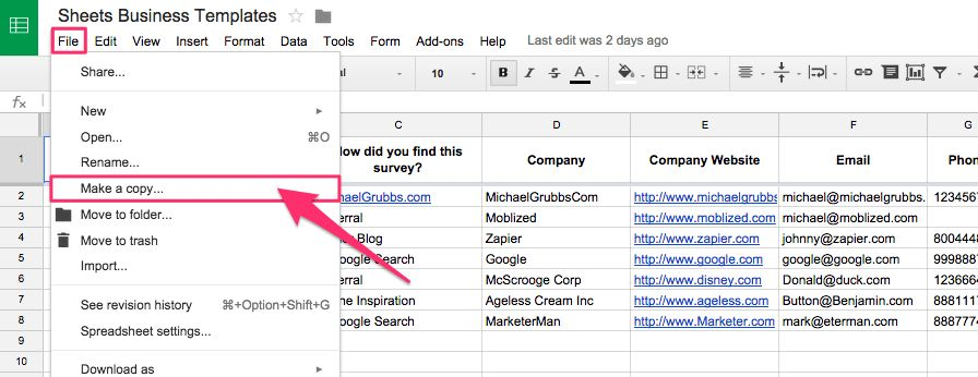 Spreadsheet CRM: How to Create a Customizable CRM with Google ...