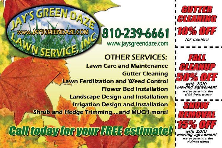 Brilliant Landscaping Advertising Ideas Flyers For Landscapers ...