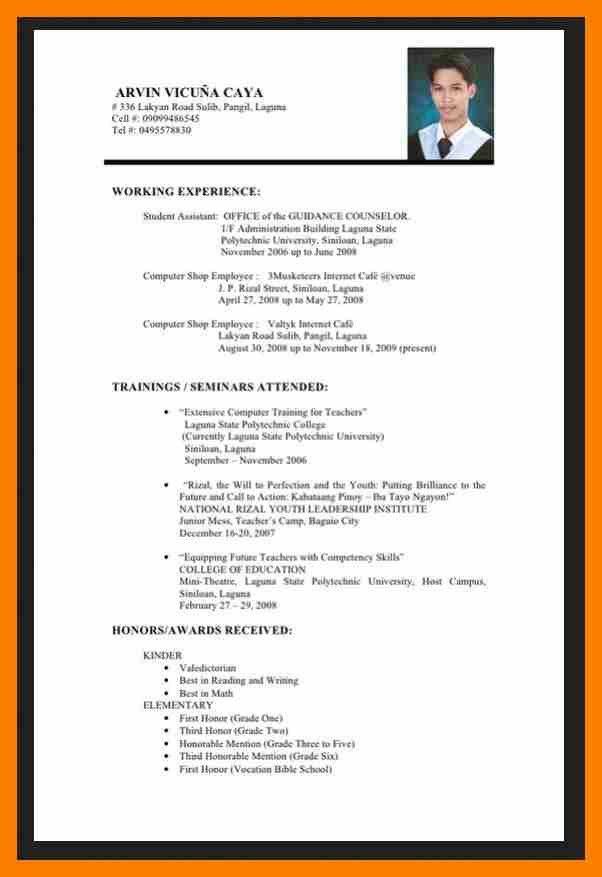 6+ simple resume sample for fresh graduate | janitor resume