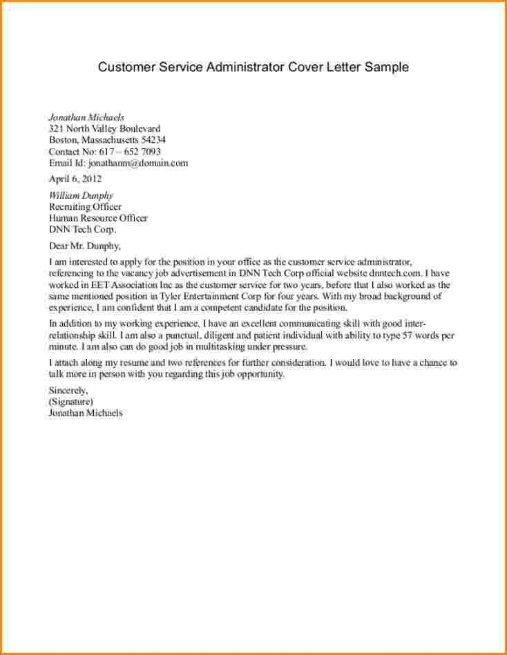 7+ customer service cover letter samples | worker resume