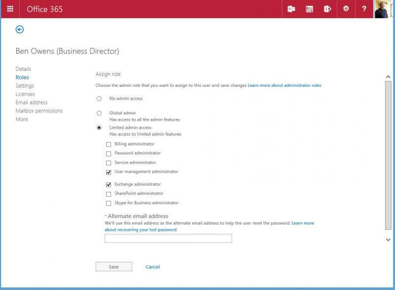 Granular administrative roles appear in Office 365 | Tony ...