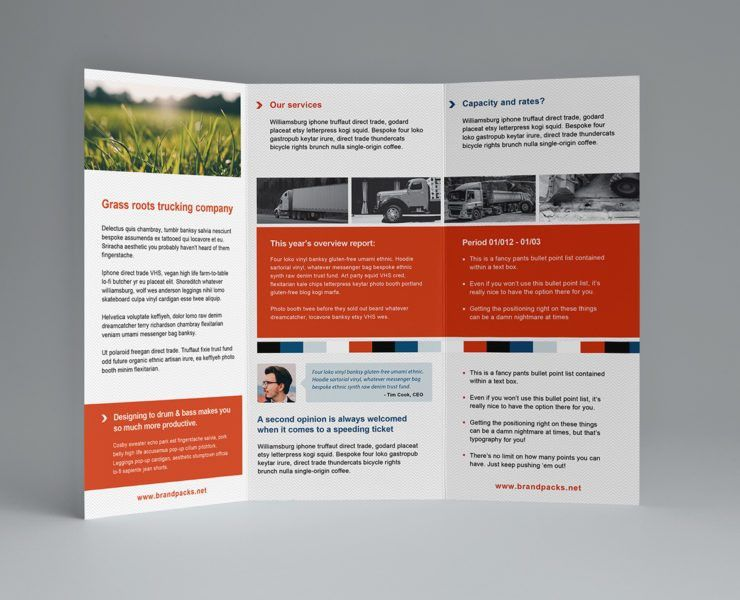 Free Trifold Brochure Template for Photoshop & Illustrator ...