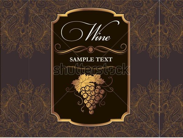 Wine Tag Template. Independent Stampin' Up ! Demonstrator Gosia ...
