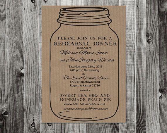 Free Printable Rehearsal Dinner Invitations | christmanista.com
